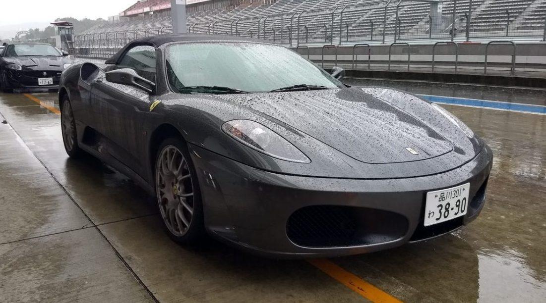 Ferrari F430 Track Test